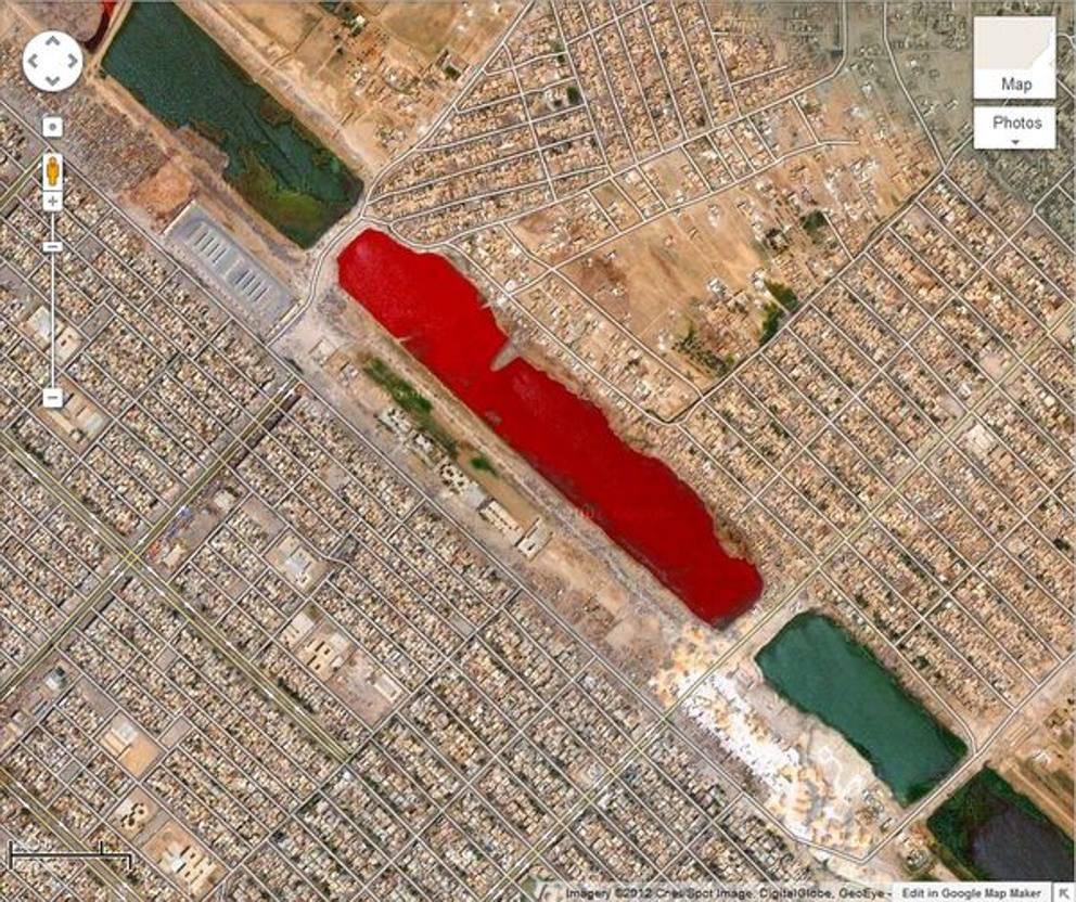 Hồ máu ở Iraq
