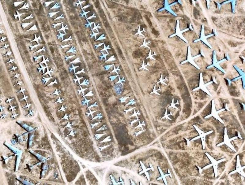 Nghĩa địa máy bay quân sự