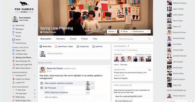 Cách sử dụng Facebook Workplace