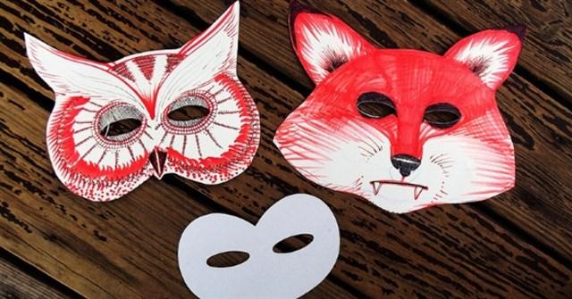 Hướng dẫn cách làm mặt nạ Halloween bằng giấy độc đáo