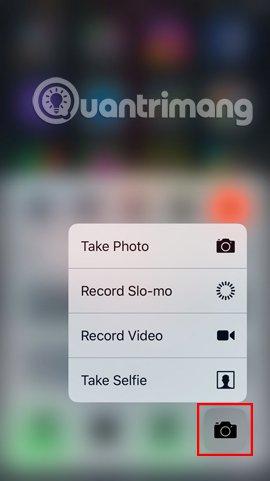 3D Touch trên iOS 10