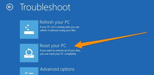 Hướng dẫn cài đặt lại Windows 8.1 trên máy tính bảng Surface Pro