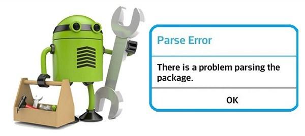 Nguyên nhân và cách sửa lỗi Parsing The Package trên thiết bị Android