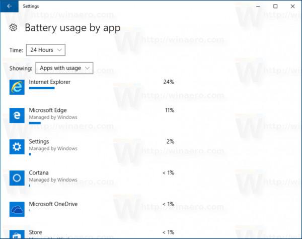 Bạn có muốn xem thông tin chi tiết các ứng dụng sử dụng bao nhiêu phần trăm pin trên Windows 10?