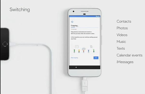 Làm thế nào để chuyển dữ liệu từ iPhone sang Google Pixel?