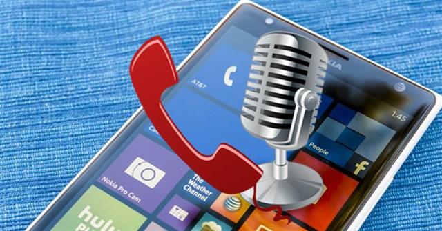 Hướng dẫn ghi âm cuộc gọi trên Windows 10 Mobile