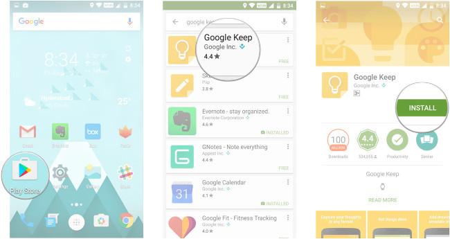 Toàn tập cách tải và sử dụng Google Keep