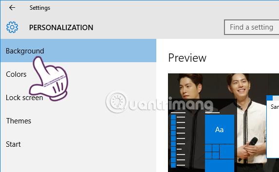 Hướng dẫn hẹn giờ thay đổi hình nền Windows 10