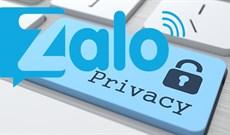 Hướng dẫn ẩn số điện thoại, ẩn thông tin cá nhân trên Zalo