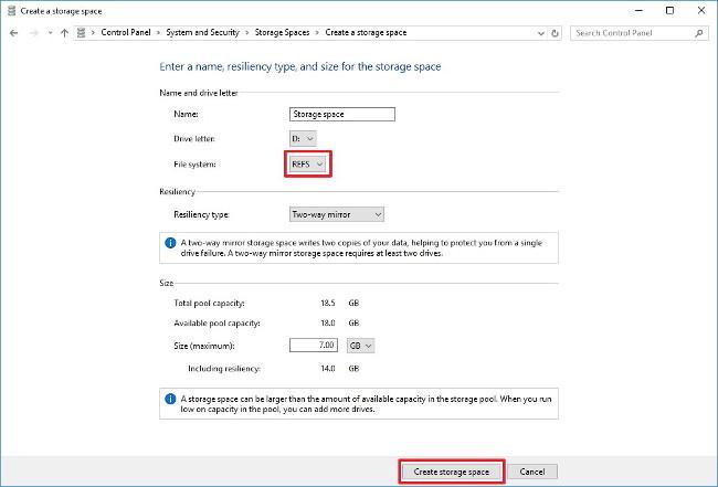 Đây là cách sử dụng Resilient File System (ReFS) trên Windows 10