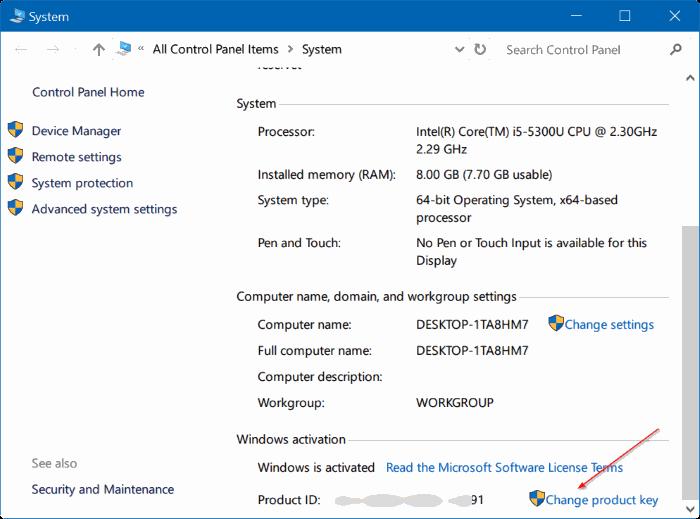 5 cách nhập key Windows 10 đơn giản nhất - Ảnh minh hoạ 6