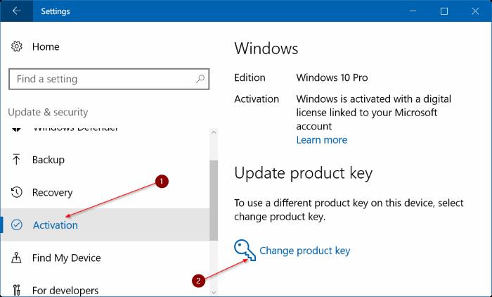 5 cách nhập key Windows 10 đơn giản nhất - Ảnh minh hoạ 2