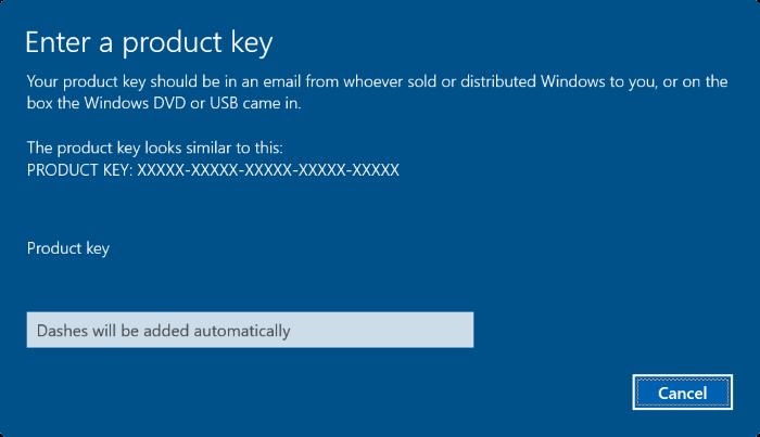 5 cách nhập key Windows 10 đơn giản nhất - Ảnh minh hoạ 7