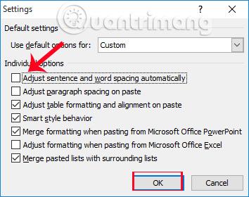 Làm sao khi chữ trong Microsoft Word bị nhảy cách?