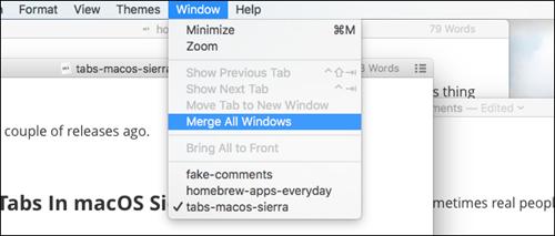 Bạn đã biết đến 3 tính năng quản lý cửa sổ trên macOS Sierra chưa?