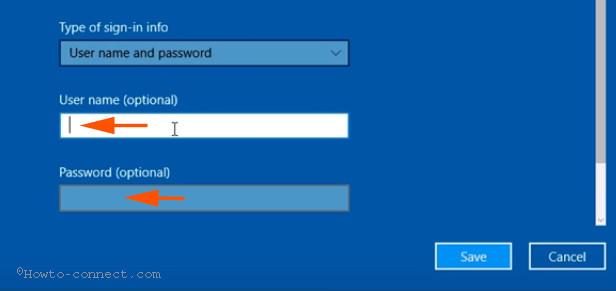 Kiểm tra username, mật khẩu và loại server