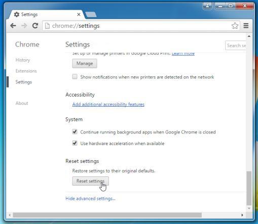 Gỡ bỏ tận gốc Delta Search trên trình duyệt Chrome, Firefox và Explorer