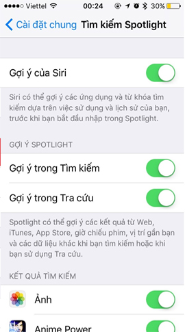 6 tính năng bạn nên chọn lựa vô hiệu hóa trên thiết bị iOS 10