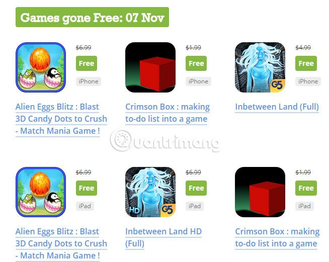 Cách tải ứng dụng mất phí hoàn toàn miễn phí trên iPhone/iPad