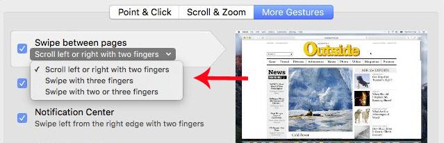 Hướng dẫn cách vô hiệu tính năng vuốt của Trackpad trên Mac