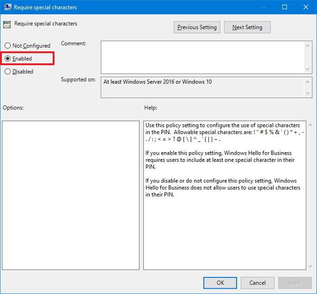 """Cấu hình mã PIN """"hại não"""" đăng nhập trên Windows 10"""