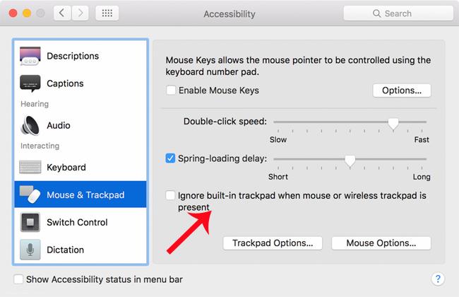 Cách sửa lỗi Trackpad trên MacBook không hoạt động, thao tác chậm