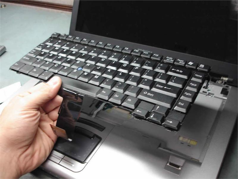 Kiểm tra bàn phím laptop cũ