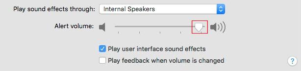 Cách tùy chỉnh hiệu ứng âm thanh trên Mac OS