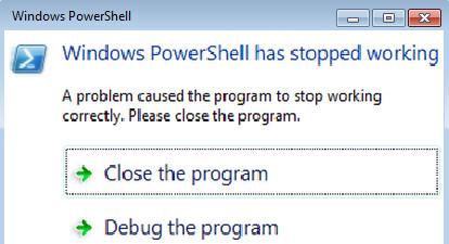 Phải làm gì để sửa lỗi Powershell has stopped working problem? - Ảnh minh hoạ 4