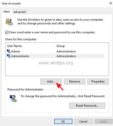 Không thể tạo tài khoản user mới trên Windows 10, 8.1 và 8, đây là cách sửa lỗi