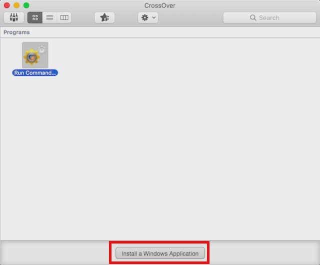 Cách chạy các chương trình của Windows trên Mac