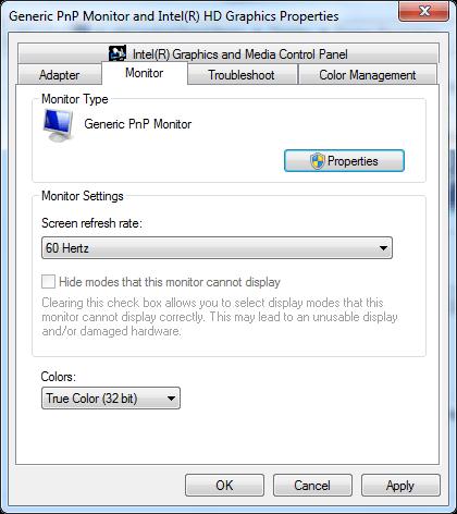 Điều chỉnh độ phân giải màn hình trên Windows 10 / 8 / 7