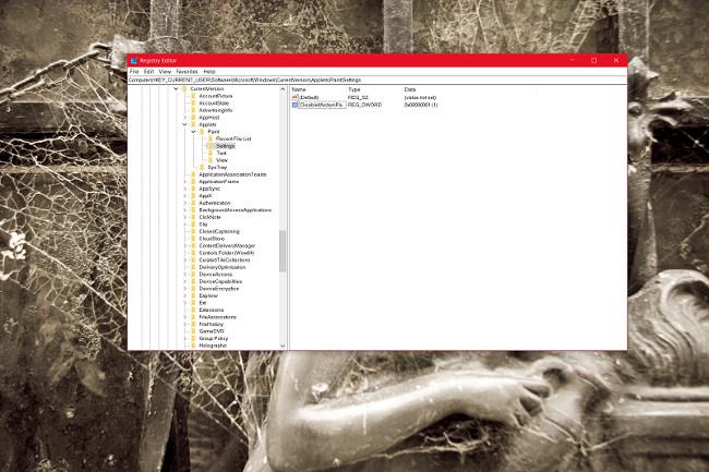 Thay thế ứng dụng Paint 3D bằng Paint Classic trên Windows 10