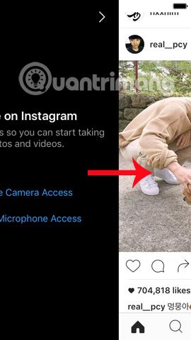 Live stream trên Instagram