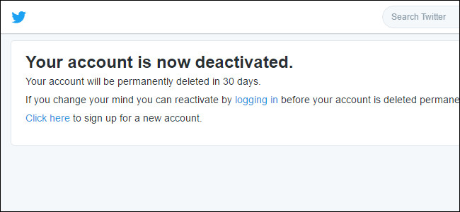 Cách vô hiệu hóa tạm thời và xóa vĩnh viễn tài khoản Twitter
