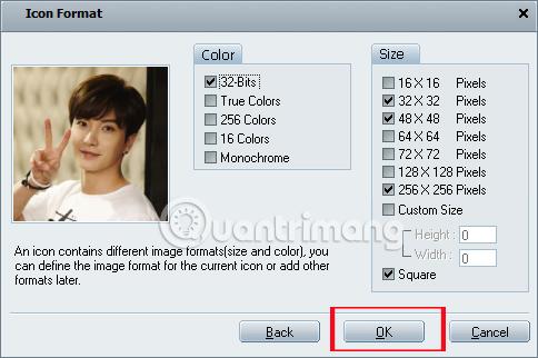 Thay đổi hình đại diện cho thư mục bằng IconCool Studio
