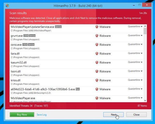 Cách gỡ bỏ Trustedsurf.com trên trình duyệt Chrome, Firefox và Internet Explorer