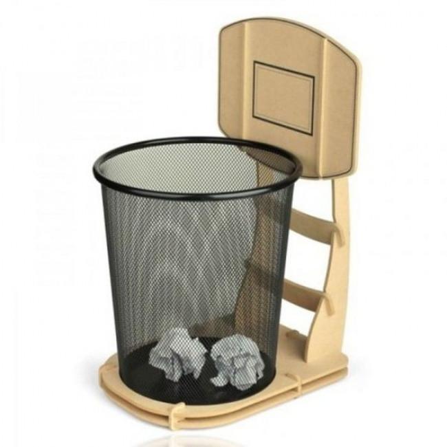 Thùng rác cho dân chơi bóng rổ