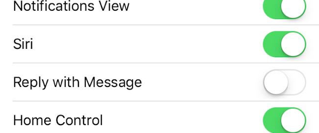 Tắt tính năng Reply to Messages