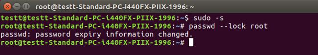 Hướng dẫn vô hiệu hóa tài khoản Root trên Linux