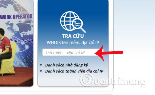 Hướng dẫn cách kiểm tra tên miền .vn trên VNNIC