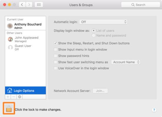 Hướng dẫn đăng nhập tự động trên máy Mac
