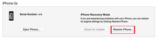 Hướng dẫn hạ cấp về iOS 10.1 cho iPhone/iPad bị sụt pin