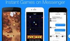 Facebook phát hành tính năng Instant Games: chơi 17 game thú vị ngay trên Messenger