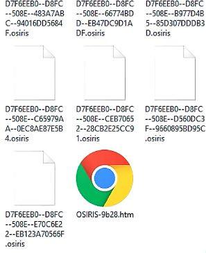Làm thế nào để loại bỏ tận gốc virus *.OSIRIS?