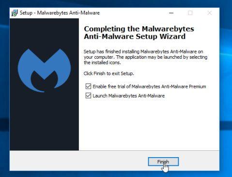Để cài đặt Malwarebytes Anti-Malware