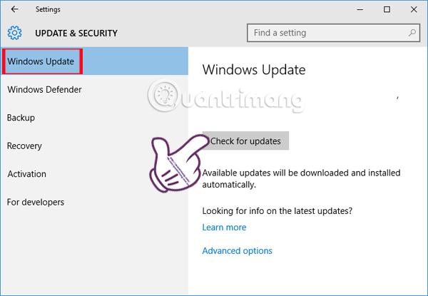 Lỗi âm thanh trên Windows 10