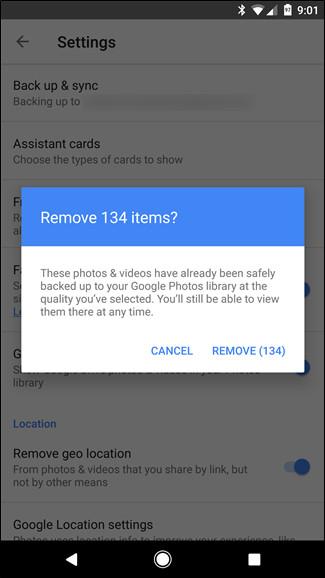 Giải phóng không gian lưu trữ trên thiết bị Android chỉ với 1 cú chạm