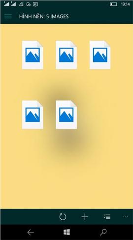 Cách thay đổi hình nền khóa theo thời gian trên Windows 10 Mobile