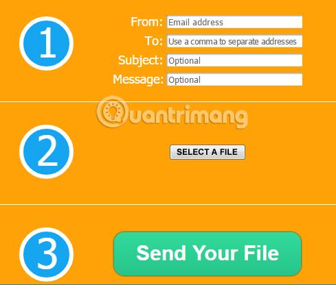 3 cách gửi file dung lượng lớn qua email